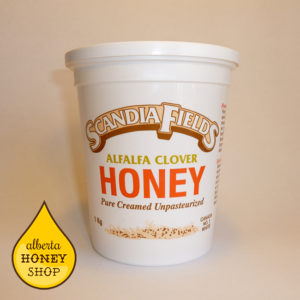 Scandia Fields Creamed Honey - Alfalfa Clover