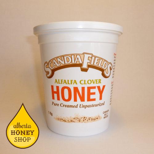 Scandia Fields Creamed Honey - Alfalfa Clover