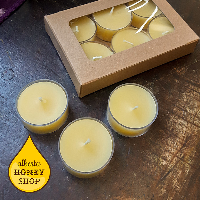 Beeswax Tealights