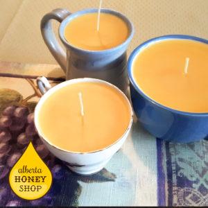 Beeswax Mug Teacup Candles