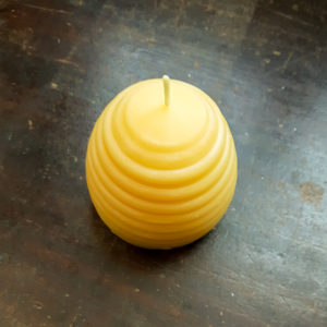 Beehive Beeswax Pillar Candle